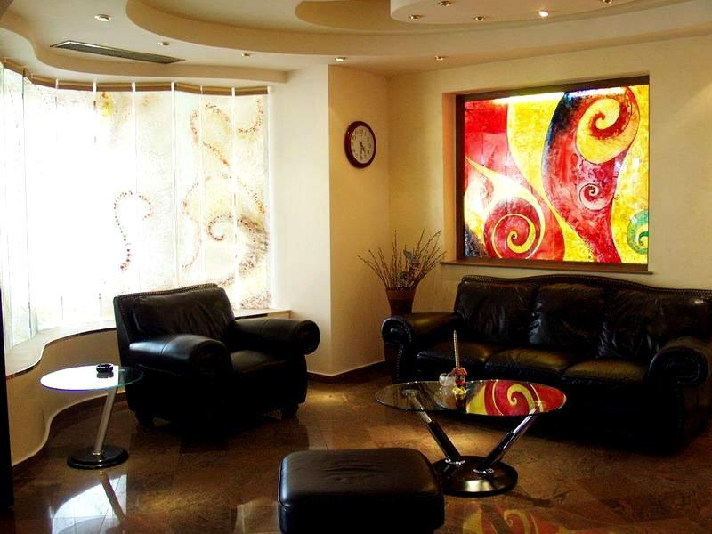 Imagine din recepția hotel Class Constanța